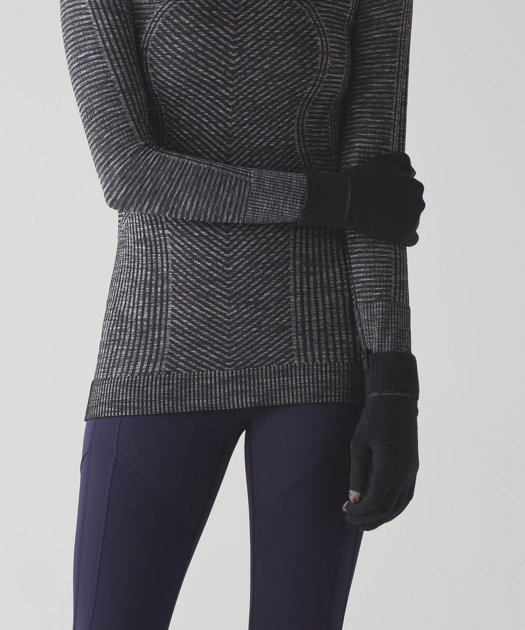 Lululemon Runderland Gloves - Heathered Black