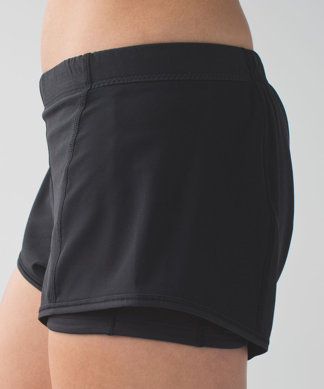 Lululemon Meshed Up Short - Black