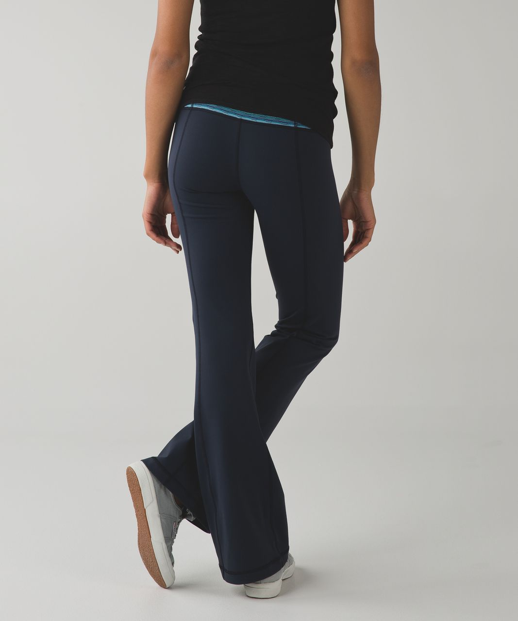 Lululemon Groove Pant III (Regular) - Inkwell / Space Dye Twist Naval Blue Peacock Blue