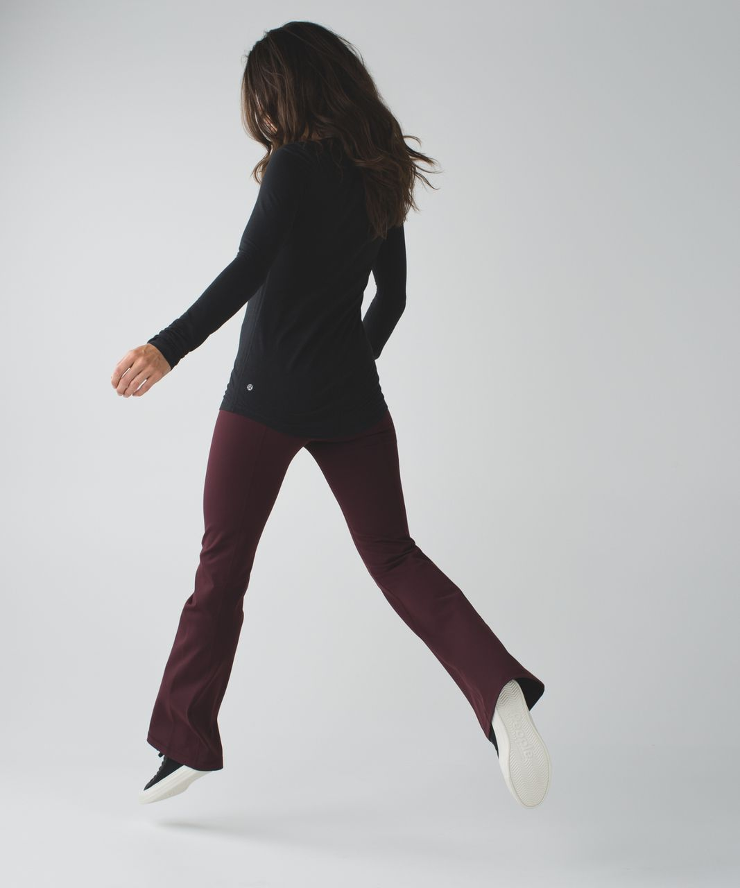 Lululemon Groove Pant III (Regular) - Bordeaux Drama / Heathered Bordeaux Drama
