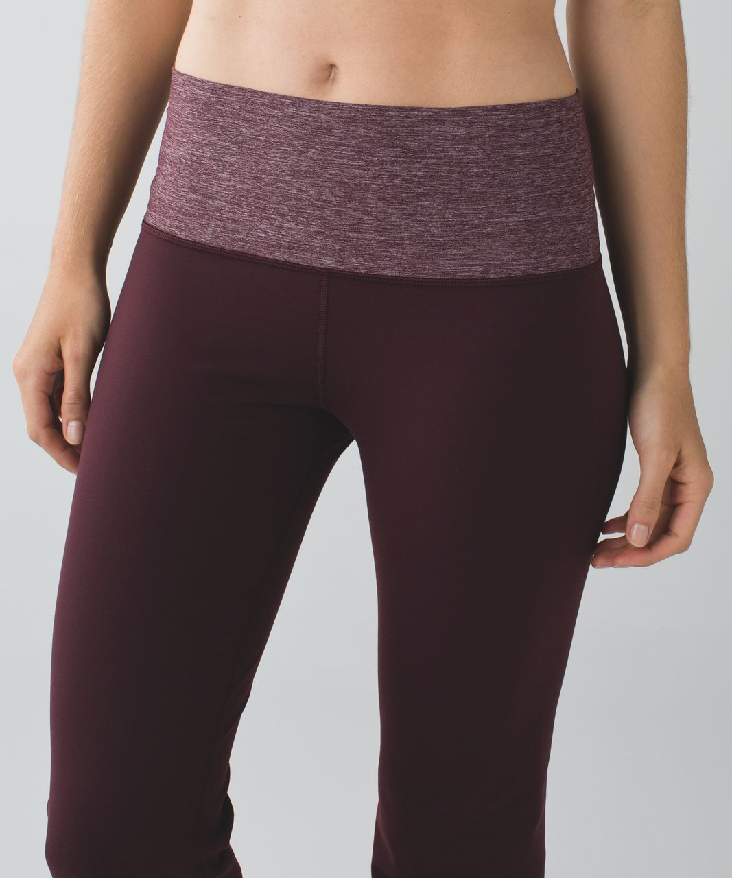 Lululemon Groove Pant III (Tall) - Bordeaux Drama / Heathered Bordeaux Drama