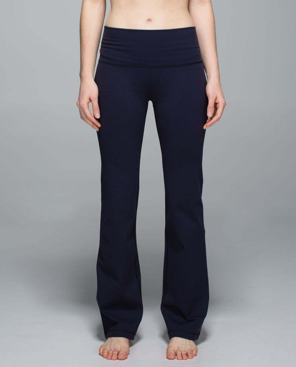 Lululemon Groove Pant II (Roll Down - Regular) - Naval Blue