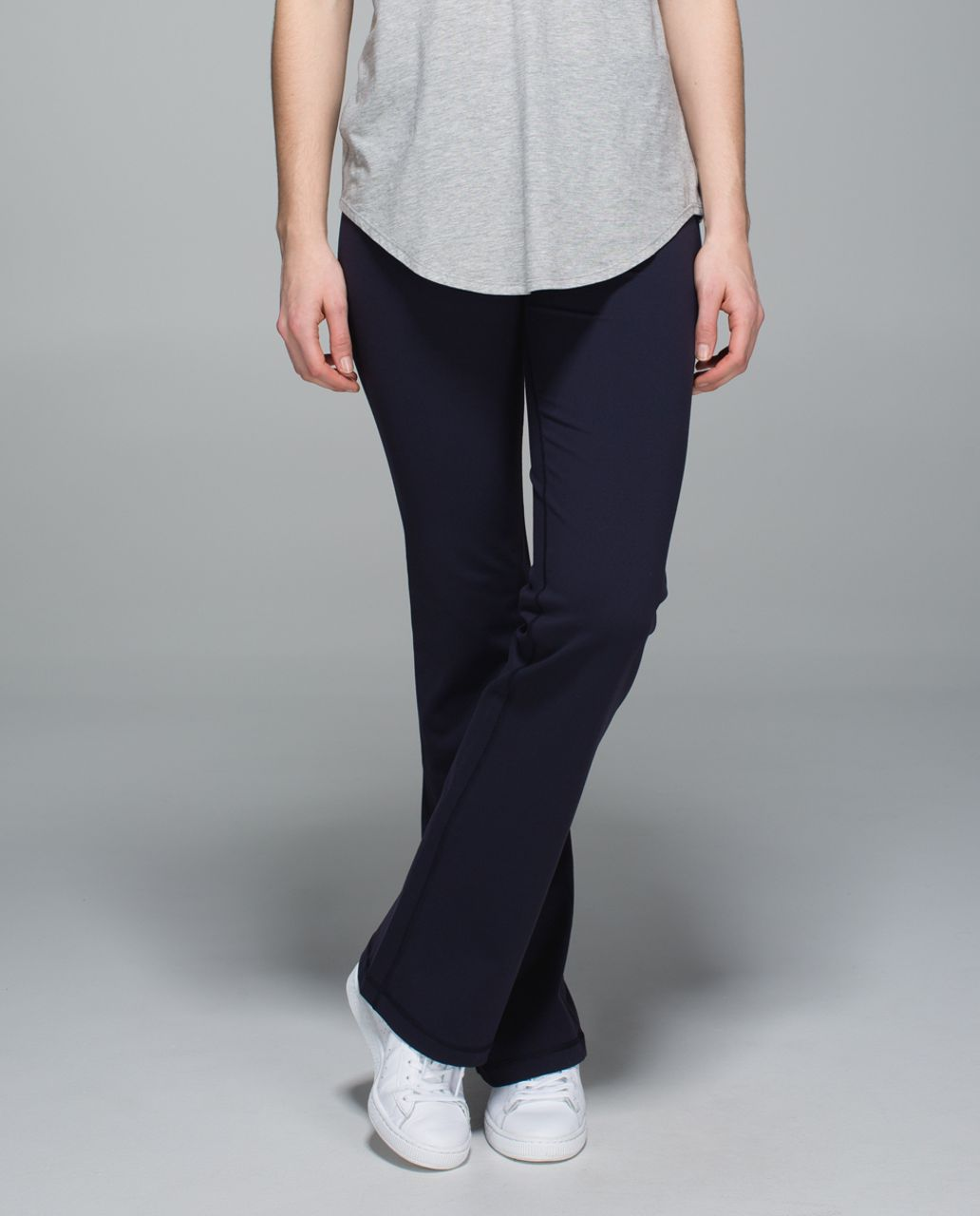 Lululemon Groove Pant II (Roll Down - Tall) - Naval Blue