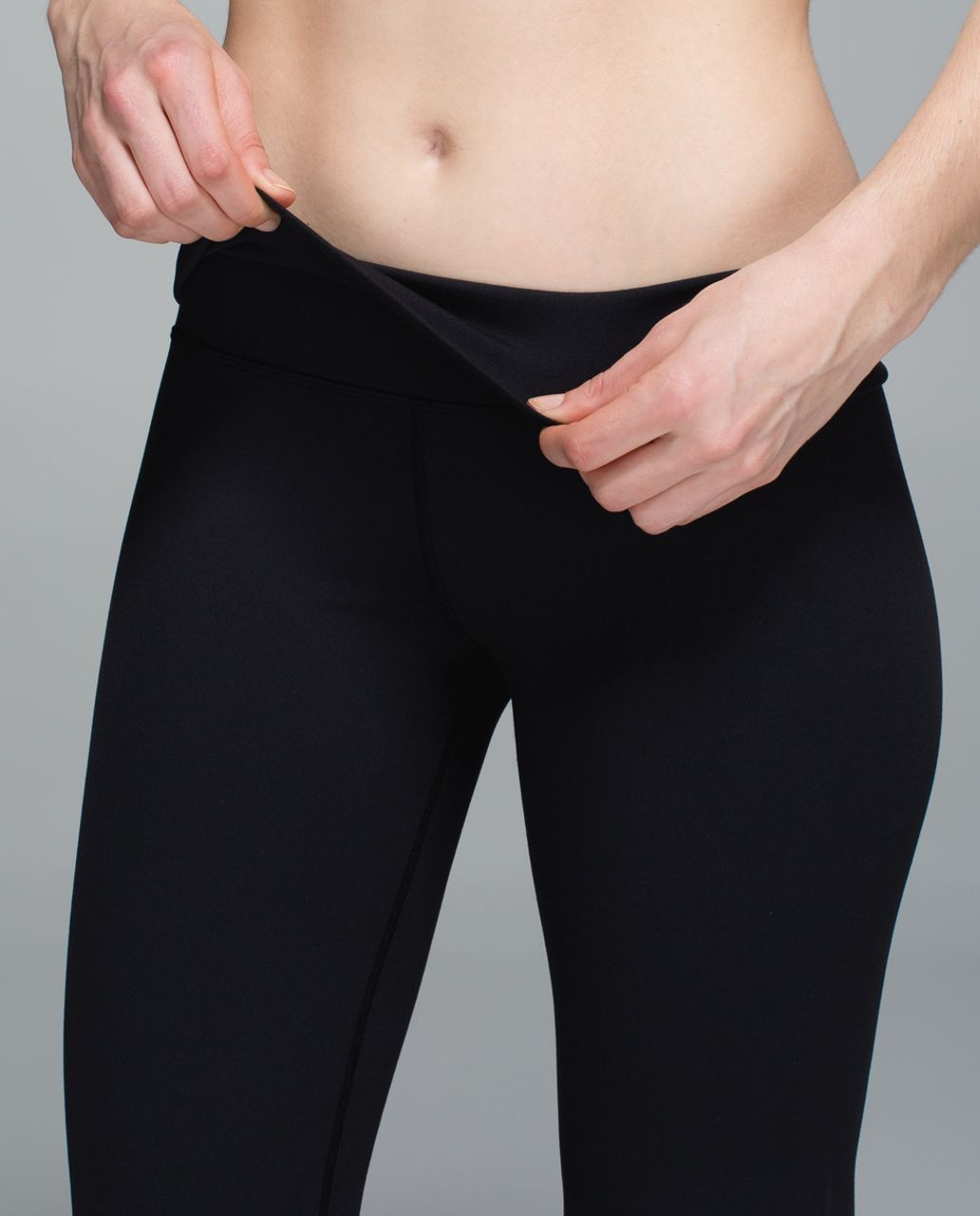 Lululemon Groove Pant II (Roll Down - Tall) - Black