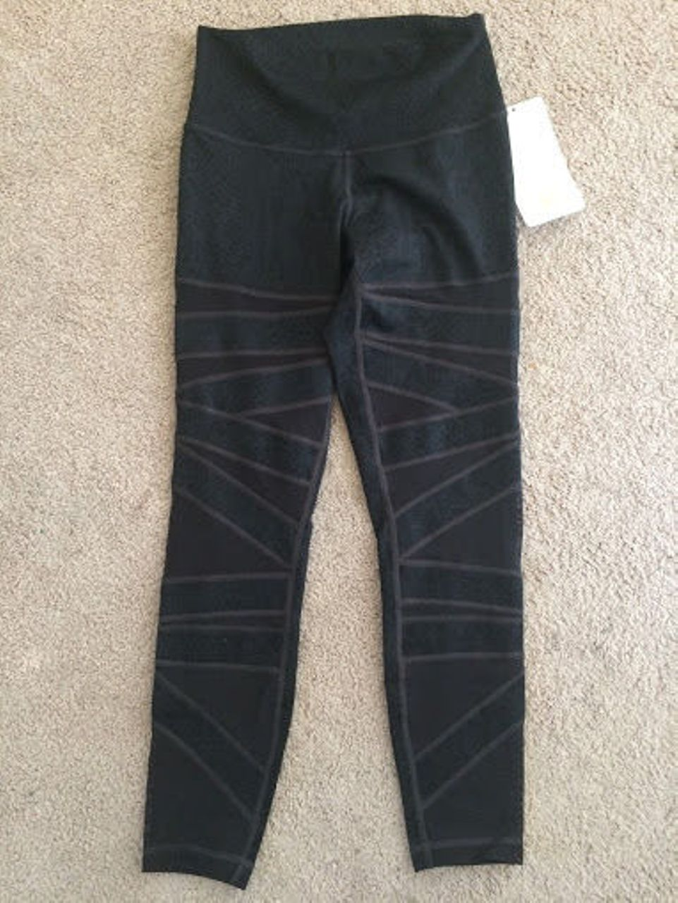 Lululemon High Times Pant *Tech Mesh - Desert Snake Deep Coal Black