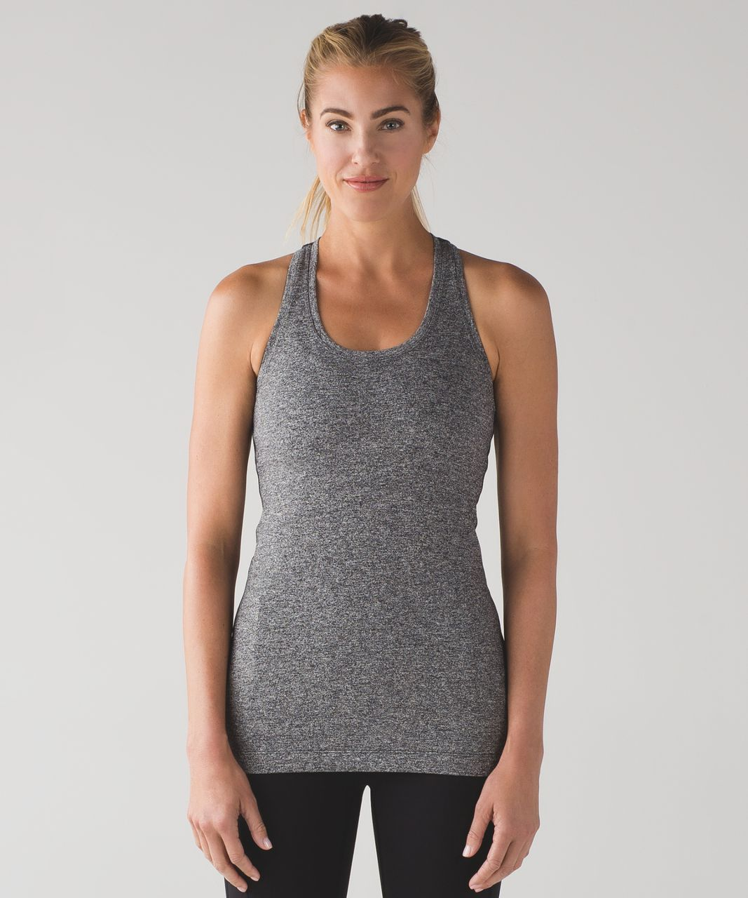 Lululemon Cool Racerback II - Heathered Black (First Release)