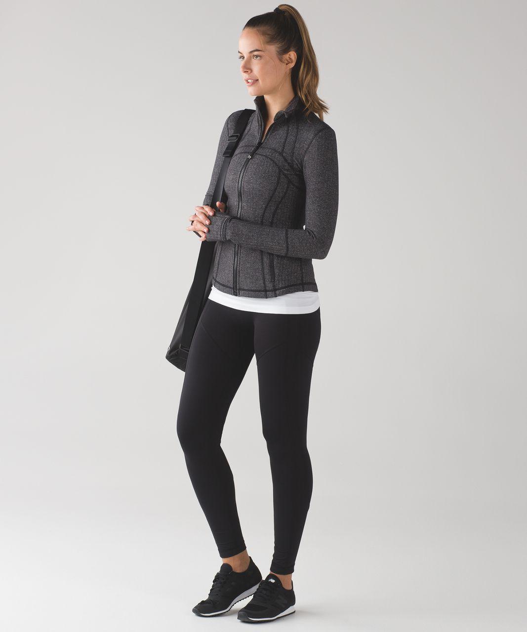 Lululemon Define Jacket - Heathered Herringbone Heathered Black Black (First Release)