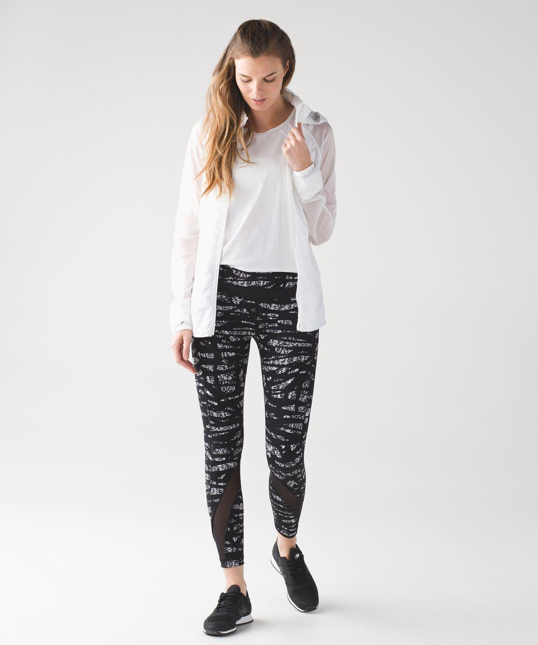 Lululemon Inspire Tight II - Graf Black White / Black