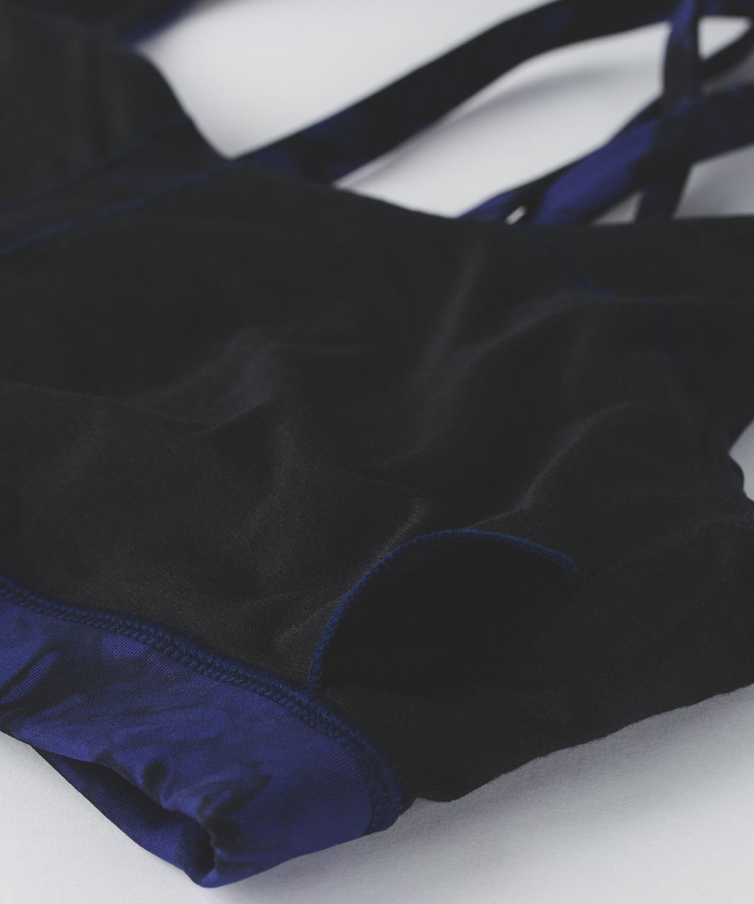 Lululemon Energy Bra (Shibori) - Shibori Emporer Blue Black