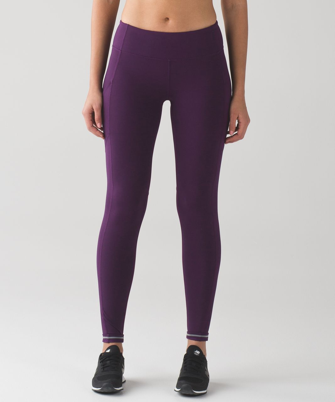 Lululemon Speed Tight V (Brushed) - Darkest Magenta