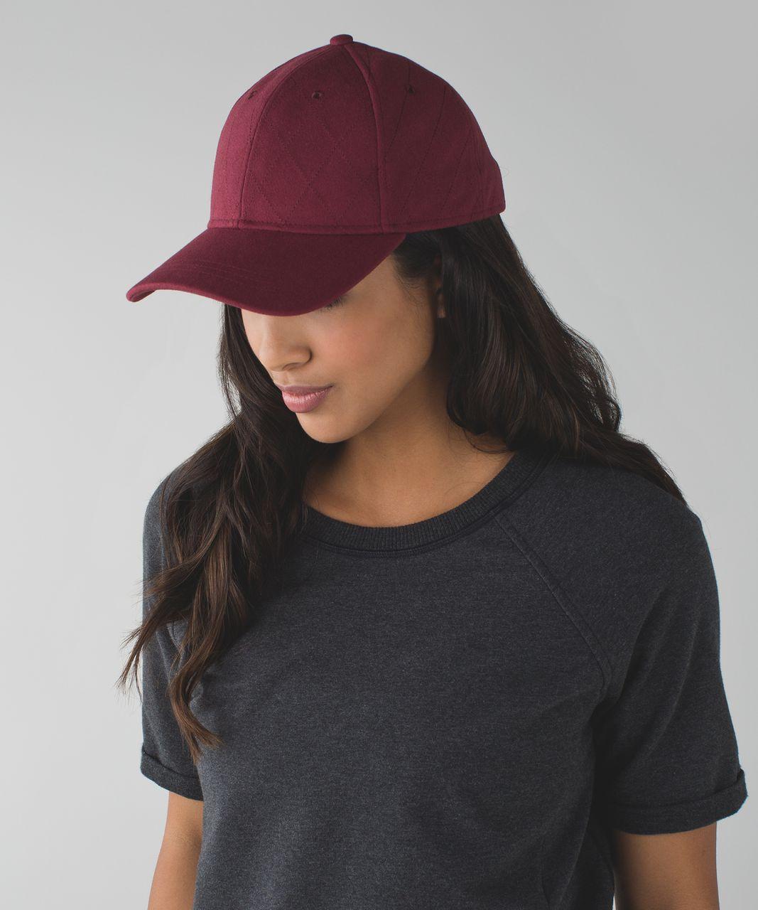 e2b5f5d7bad Lululemon Baller Hat (Felt) - Wine Berry - lulu fanatics