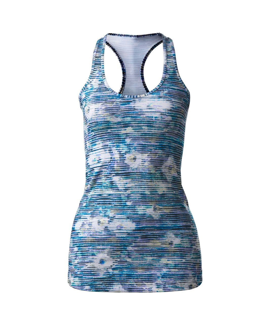 Lululemon Cool Racerback - Blurry Belle Multi