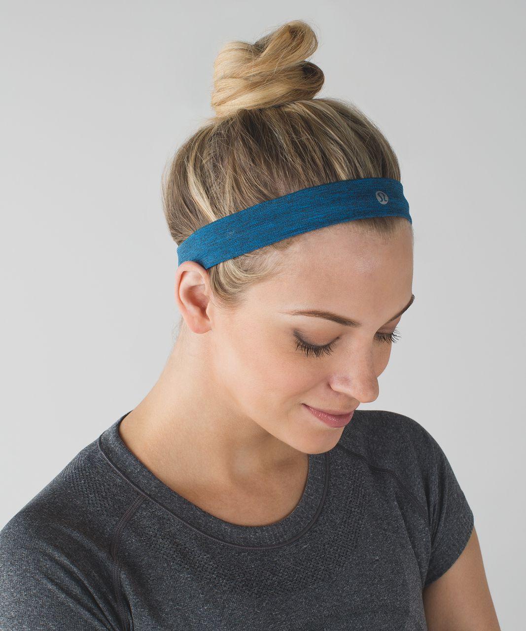 Lululemon Cardio Cross Trainer Headband - Heathered Lakeside Blue