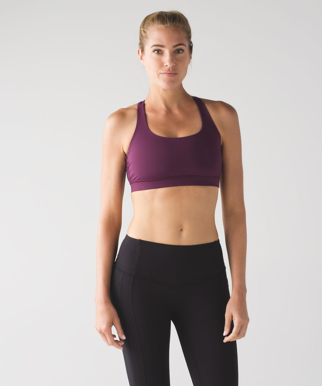 Lululemon Energy Bra - Plum