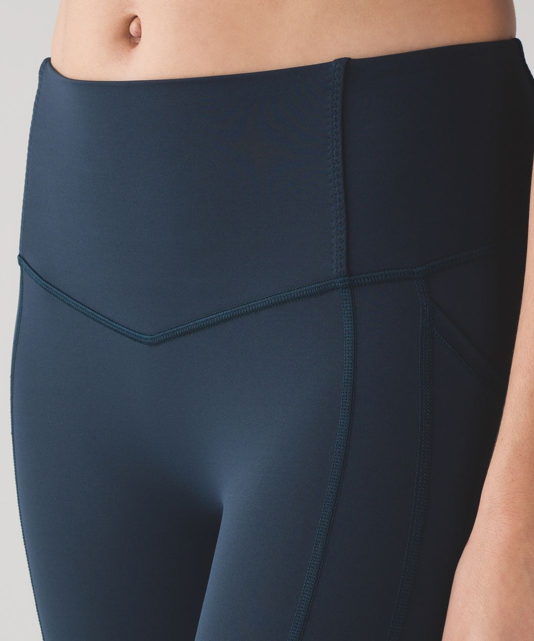"""Lululemon All The Right Places Crop II *23"""" - Nocturnal Teal"""