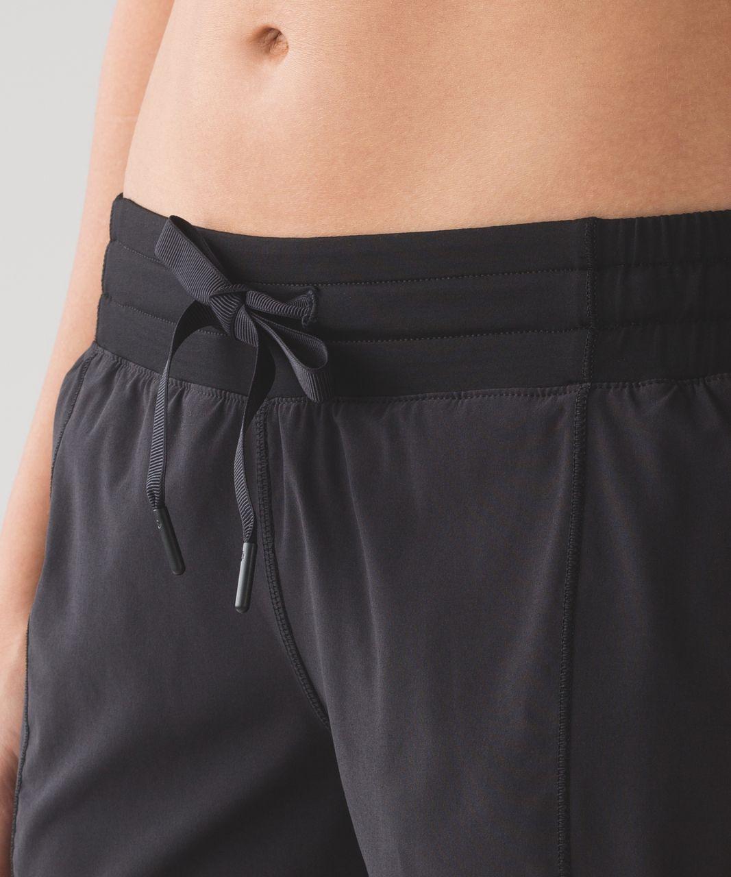 "Lululemon Hotty Hot Short (Long 4"") - Black"