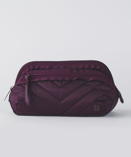 Dont Sweat It Kit Quilted Black Cherry