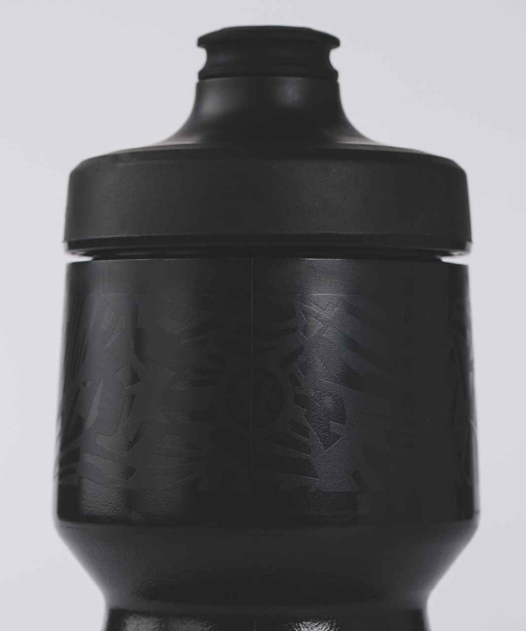 Lululemon Purist Cycling Waterbottle - Black Cubix Purist