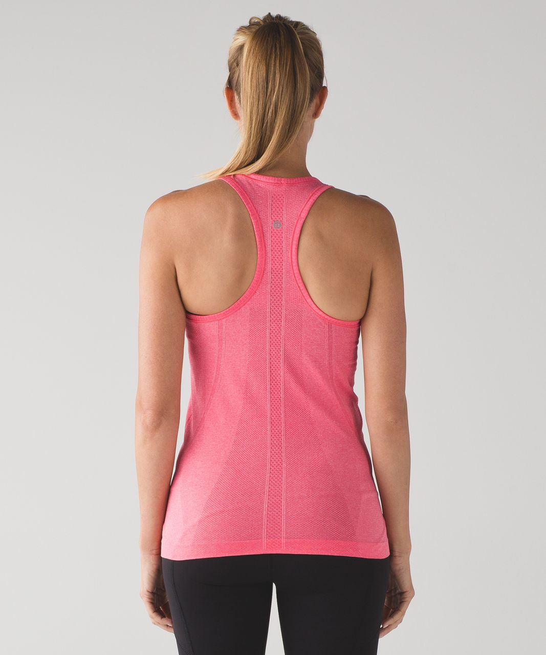 Lululemon Swiftly Tech Racerback - Heathered Lush Coral