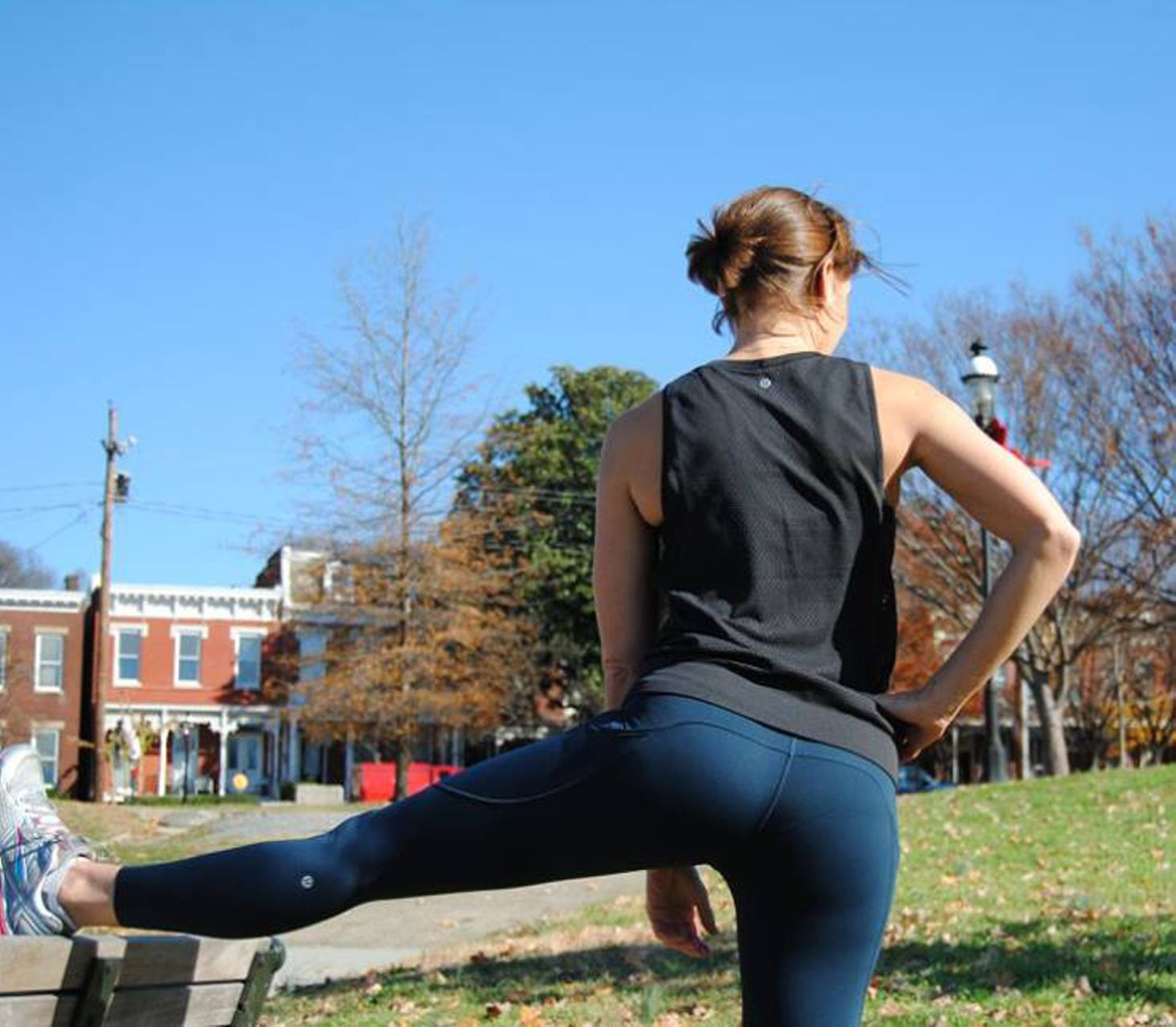 Lululemon Fast And Free 7/8 Tight - Nocturnal Teal