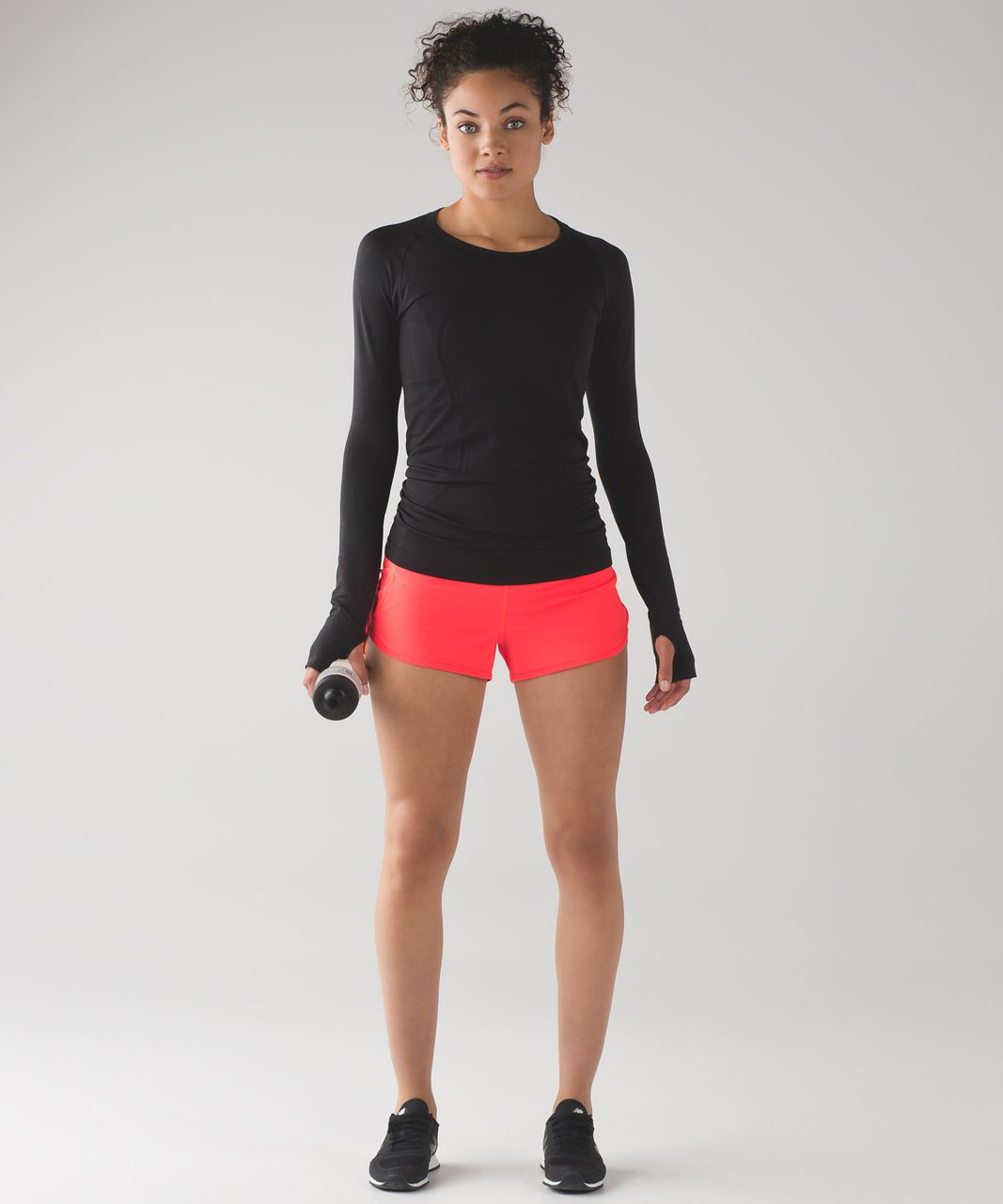 "Lululemon Speed Short (2 1/2"") - Electric Coral"