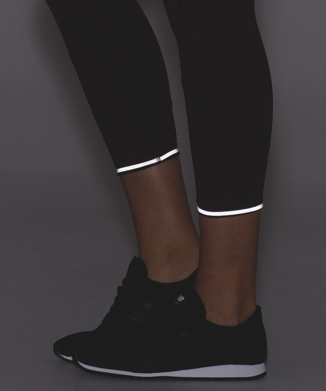 """Lululemon All The Right Places Crop II *23"""" - Black Cherry"""