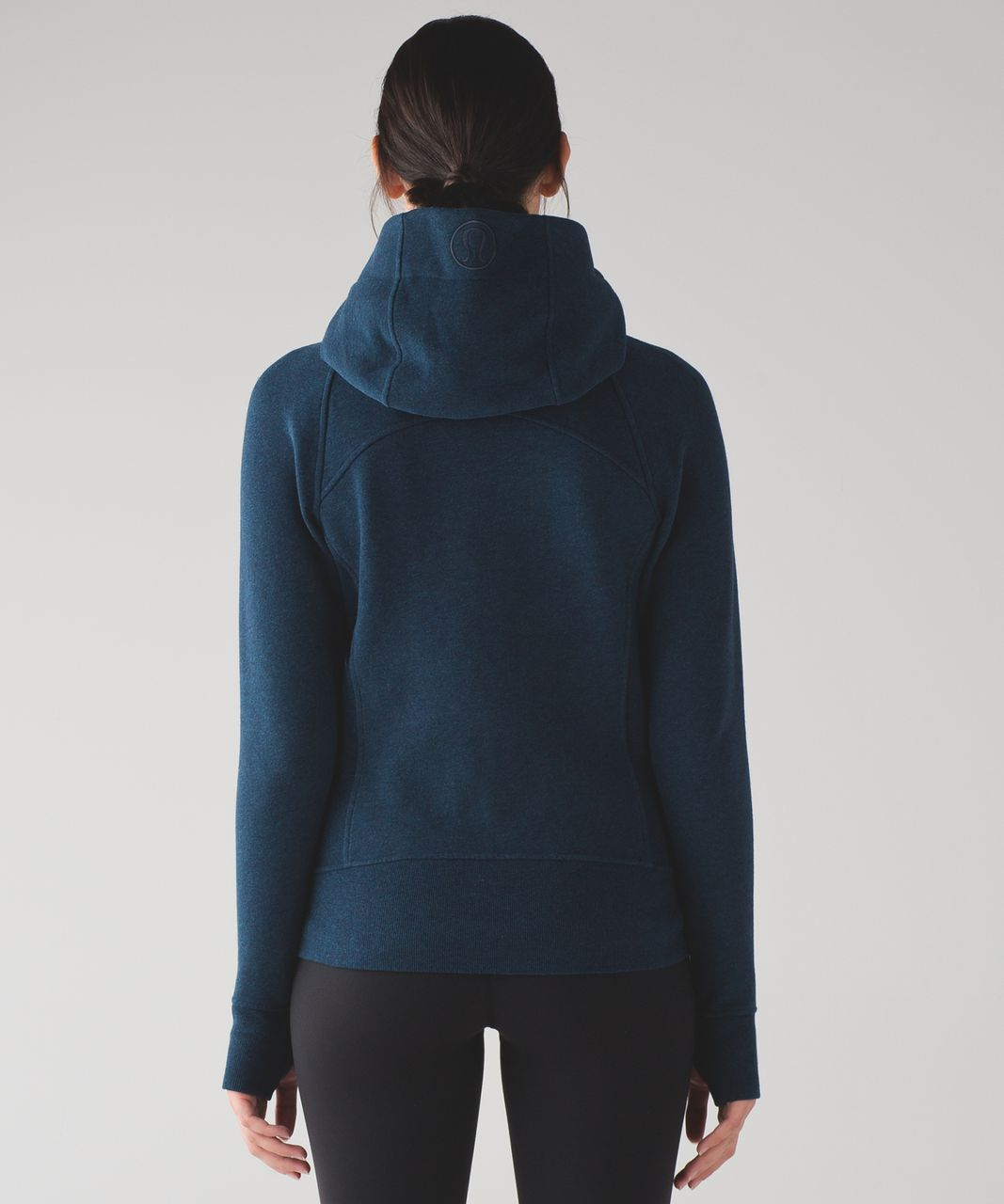Lululemon Scuba Hoodie IV - Heathered Nocturnal Teal