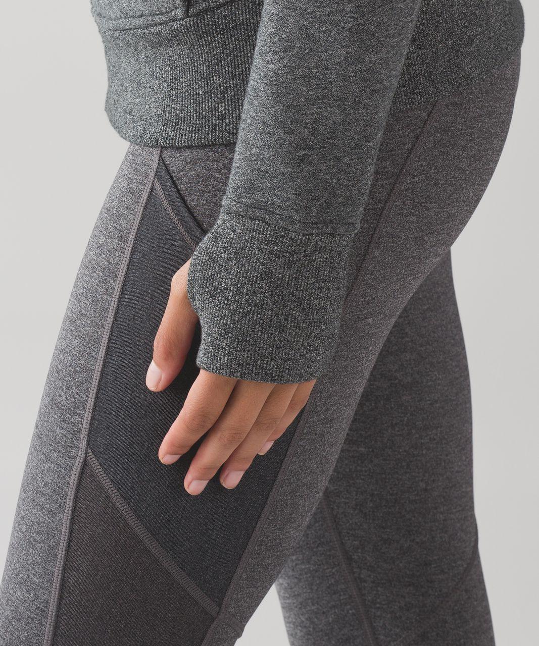 Lululemon Scuba Hoodie *Light Cotton Fleece - Heathered Speckled Black (First Release)