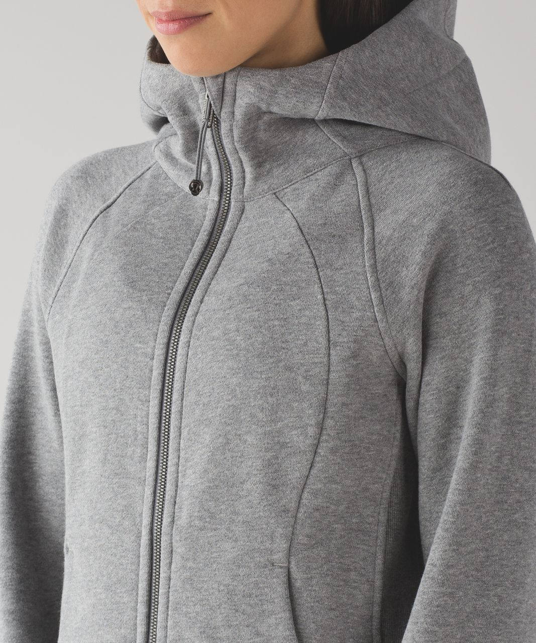 Lululemon Scuba Hoodie *Light Cotton Fleece - Heathered Medium Grey