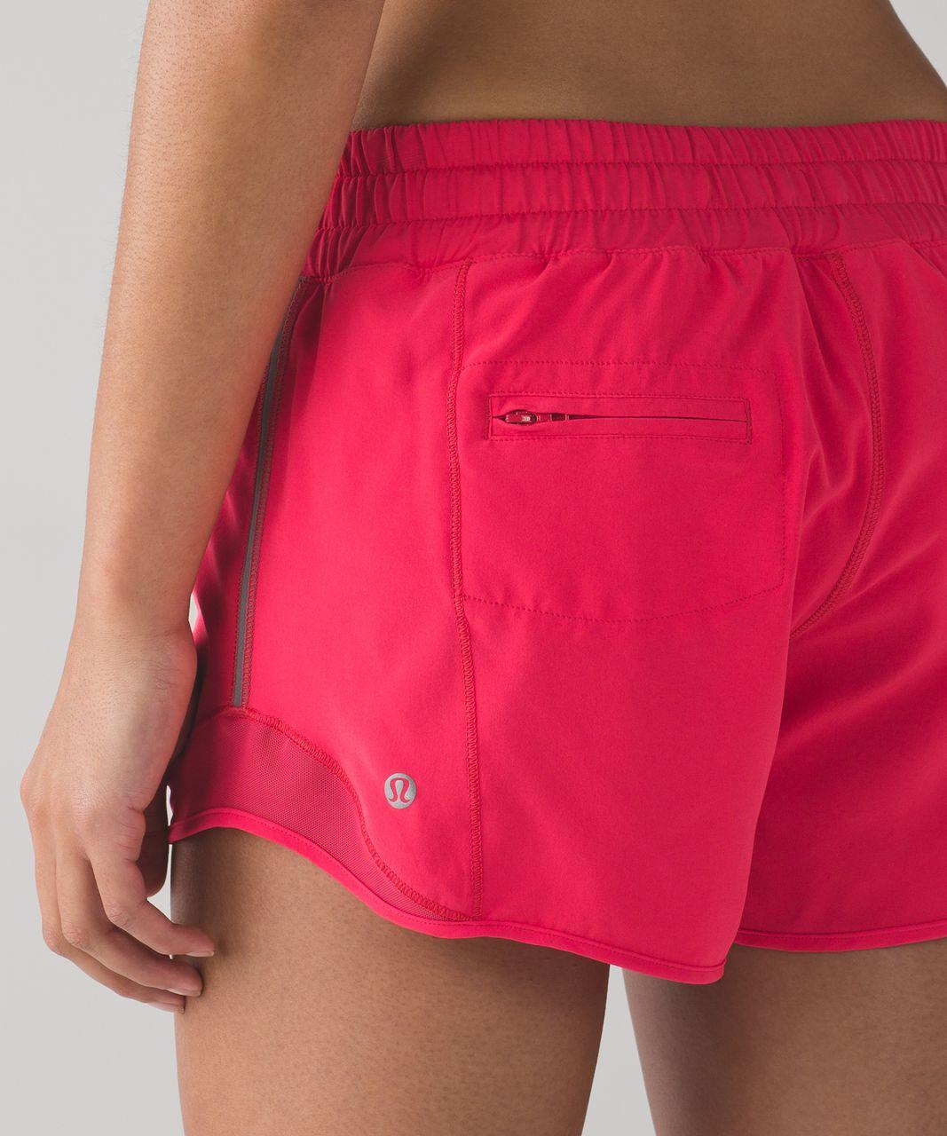 """Lululemon Hotty Hot Short (Long 4"""") - Lush Coral"""