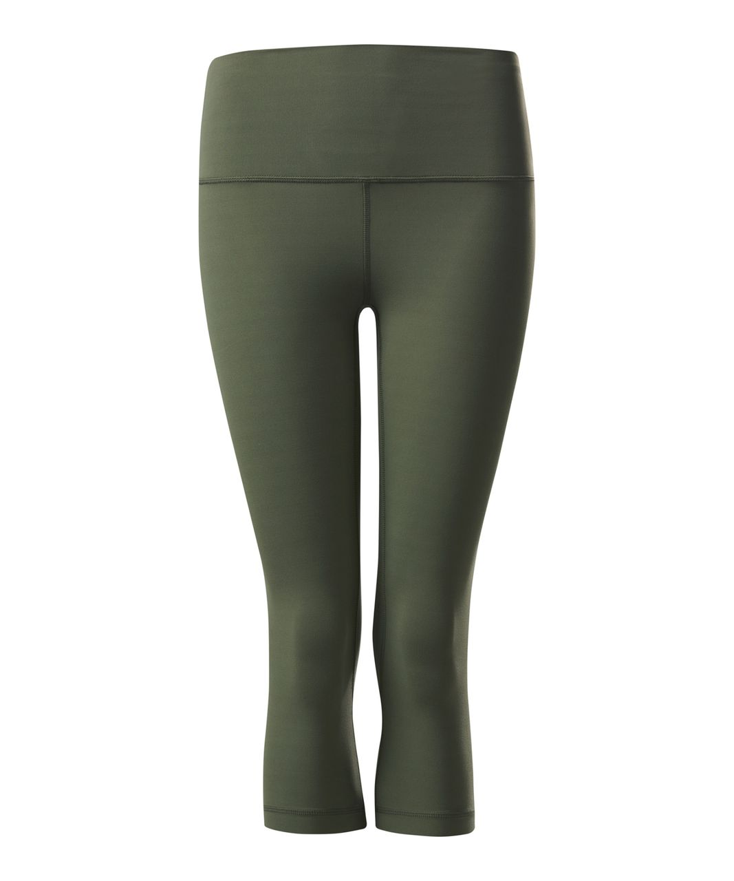 Lululemon Align Crop - Fatigue Green