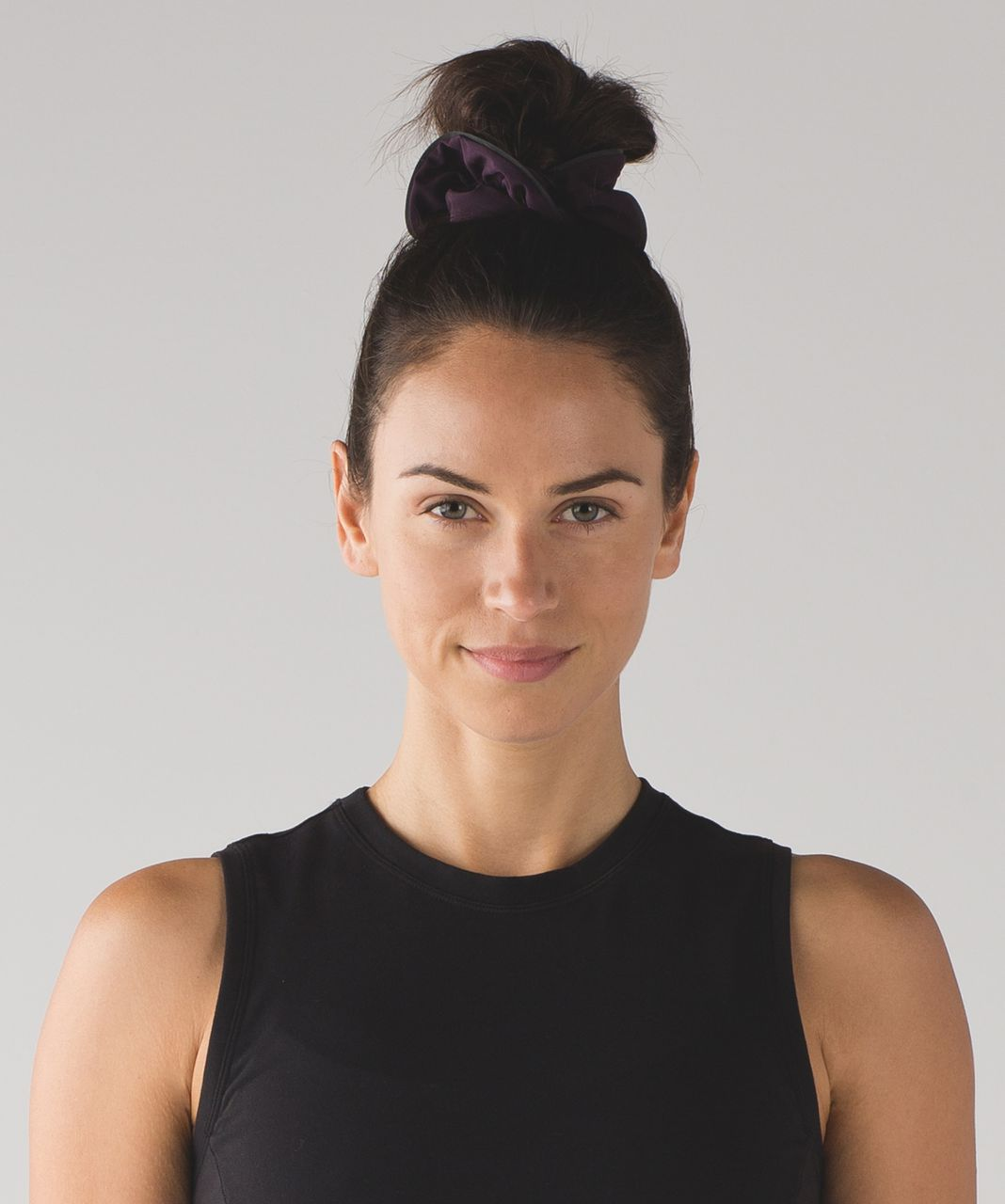 Lululemon Light Locks Scrunchie - Black Cherry