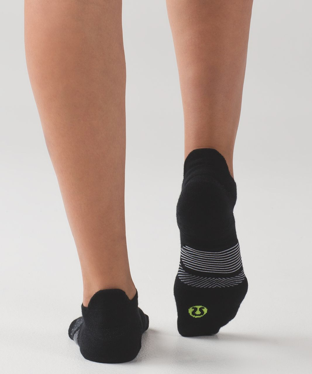 Lululemon Speed Sock (Wool) - Black / White / Ray