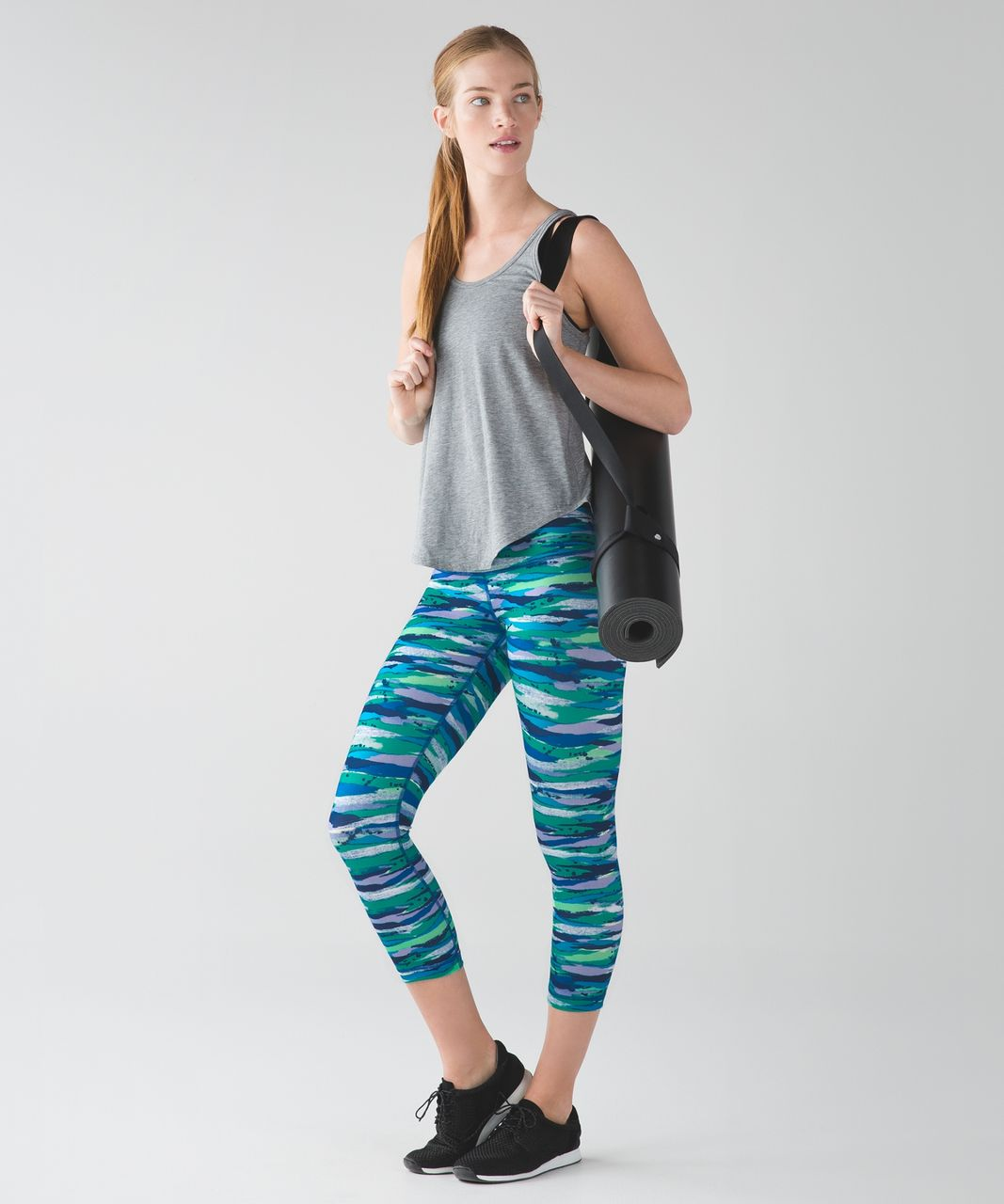 Lululemon Wunder Under Crop (Hi-Rise) - Seven Wonders Multi