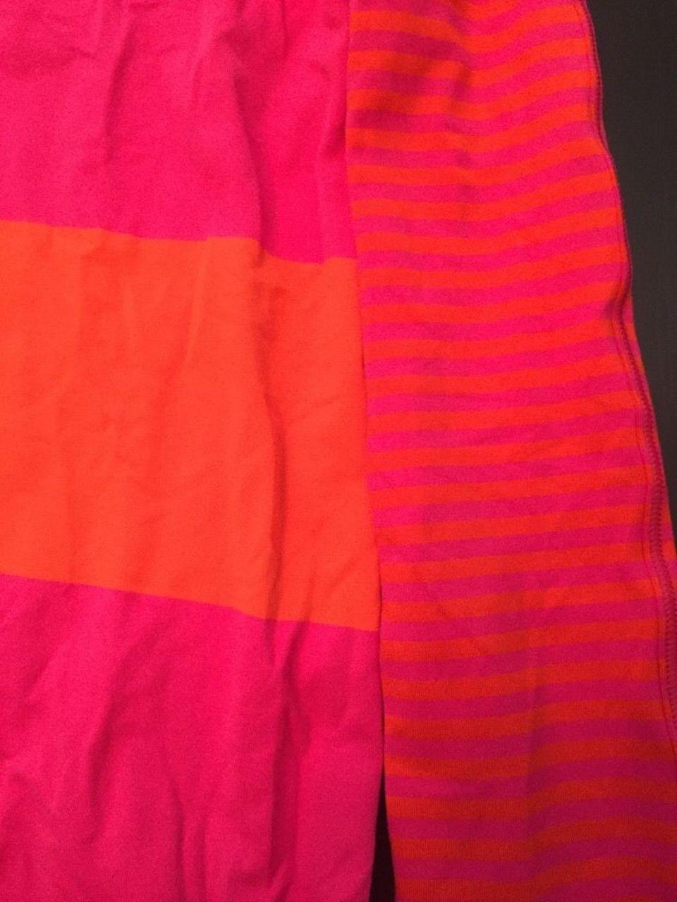 Lululemon Tuck and Flow Long Sleeve - 2015 Seawheeze - Bold Stripe / Classic Stripe Jeweled Magenta