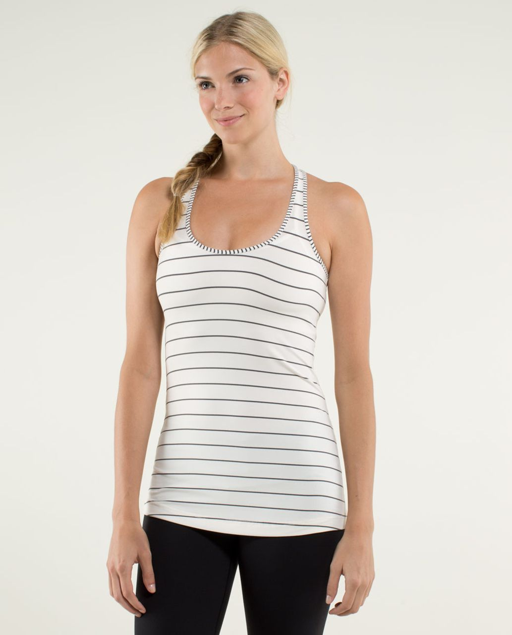 Lululemon Cool Racerback - Slalom Stripe Angel Wing / Hyper Stripe Angel Wing