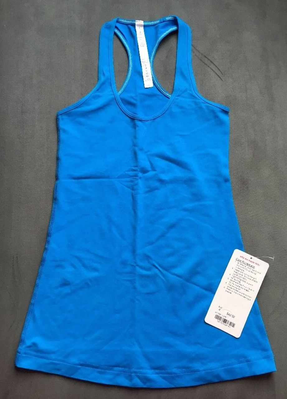 Lululemon Cool Racerback - Beach Blanket Blue