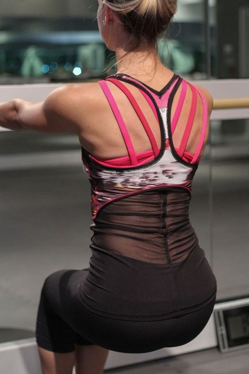 Lululemon Cool Racerback *Shine On - Pigment Wind Berry Rumble Multi