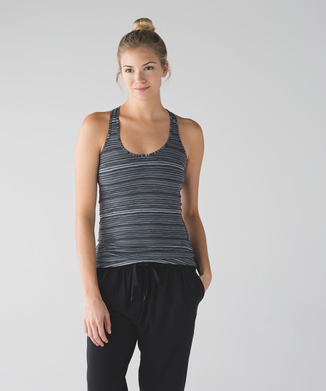 Lululemon Cool Racerback - Cyber Black Deep Coal