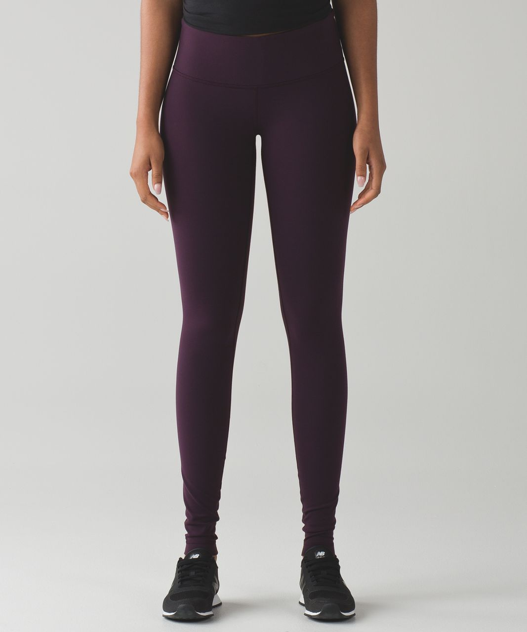 Lululemon Wunder Under Pant III (Full-On Luon) - Black Cherry