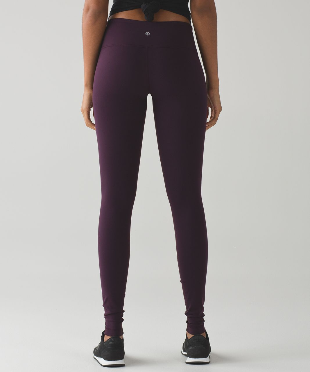 a0ae8a0ecd1293 Lululemon Wunder Under Pant III (Full-On Luon) - Black Cherry - lulu ...