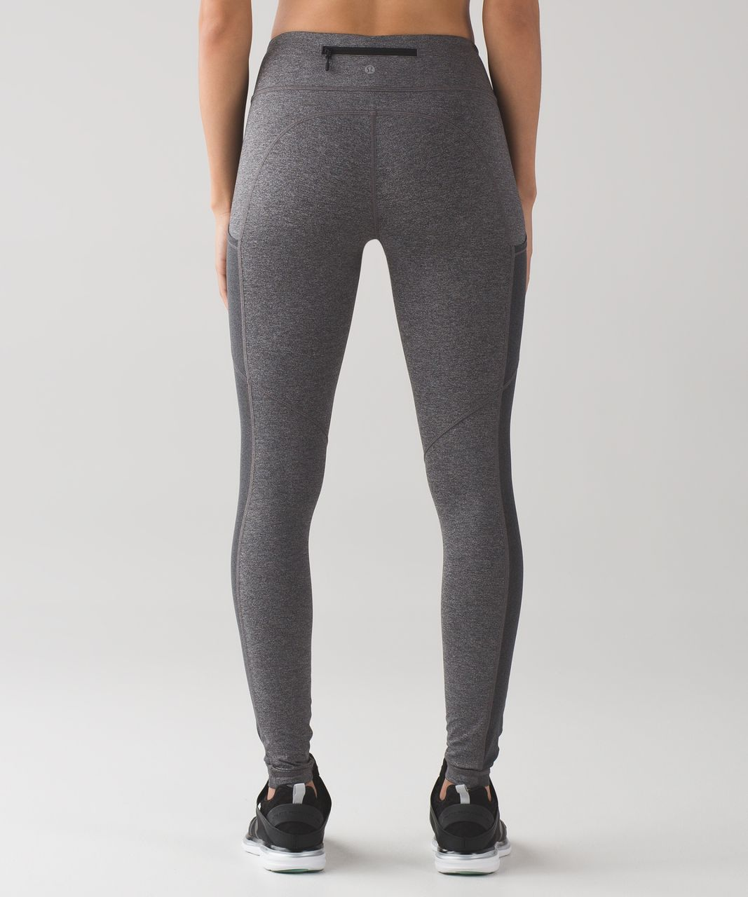 Lululemon Speed Tight V - Heathered Black