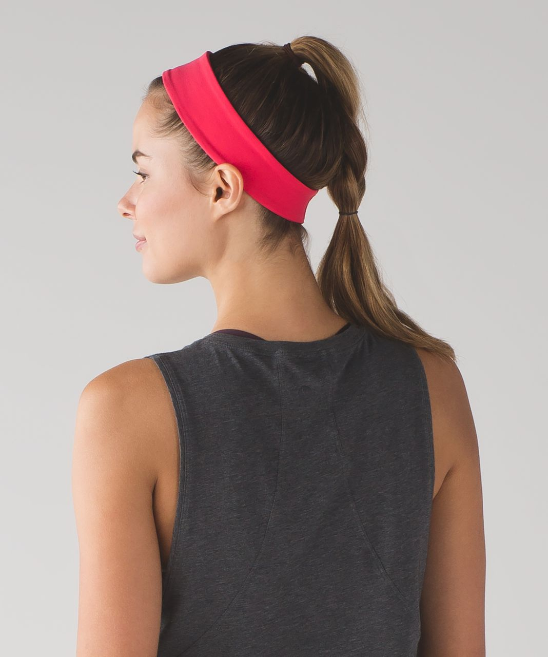 7fb110c20e8 Lululemon Fly Away Tamer Headband II - Lush Coral - lulu fanatics