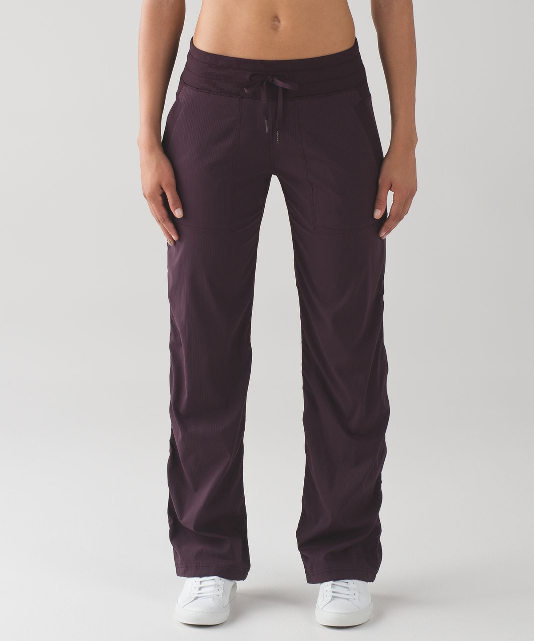 Lululemon Dance Studio Pant III (Regular) *Unlined - Black Cherry