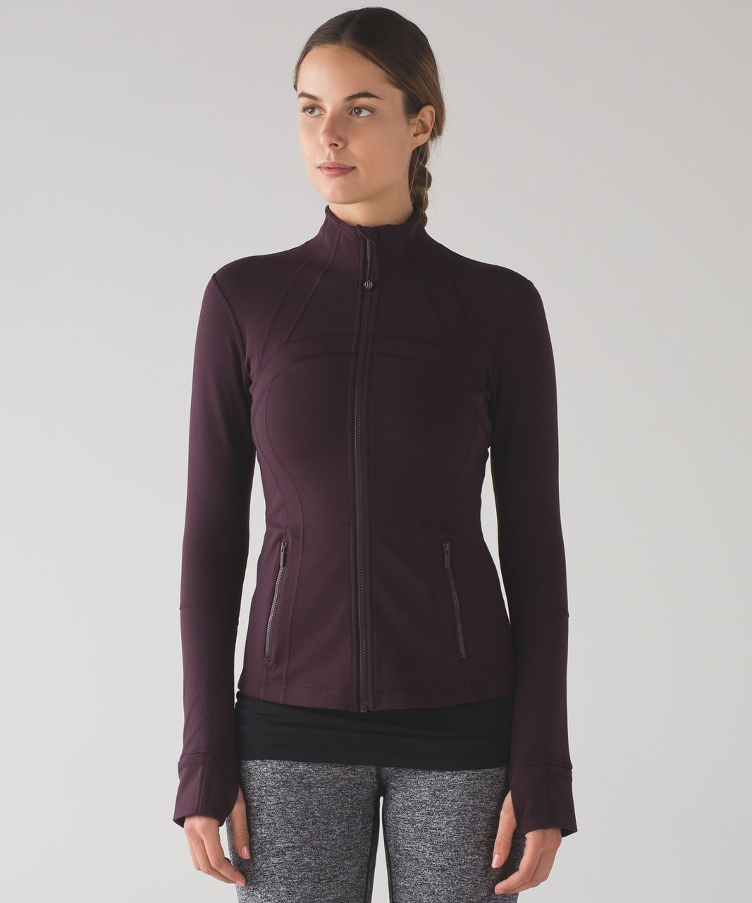 Lululemon Define Jacket - Black Cherry