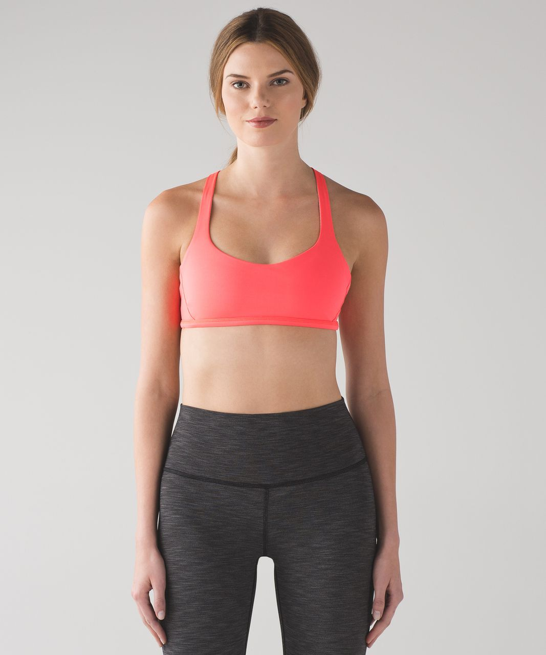 Lululemon Free To Be Zen Bra - Electric Coral