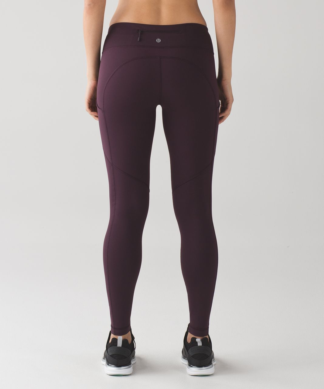 Lululemon Speed Tight V (Brushed) - Black Cherry