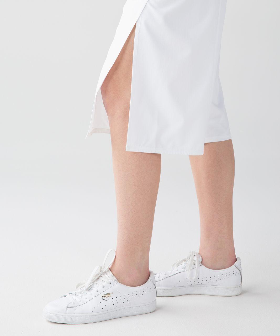 Lululemon Serene Crop - White