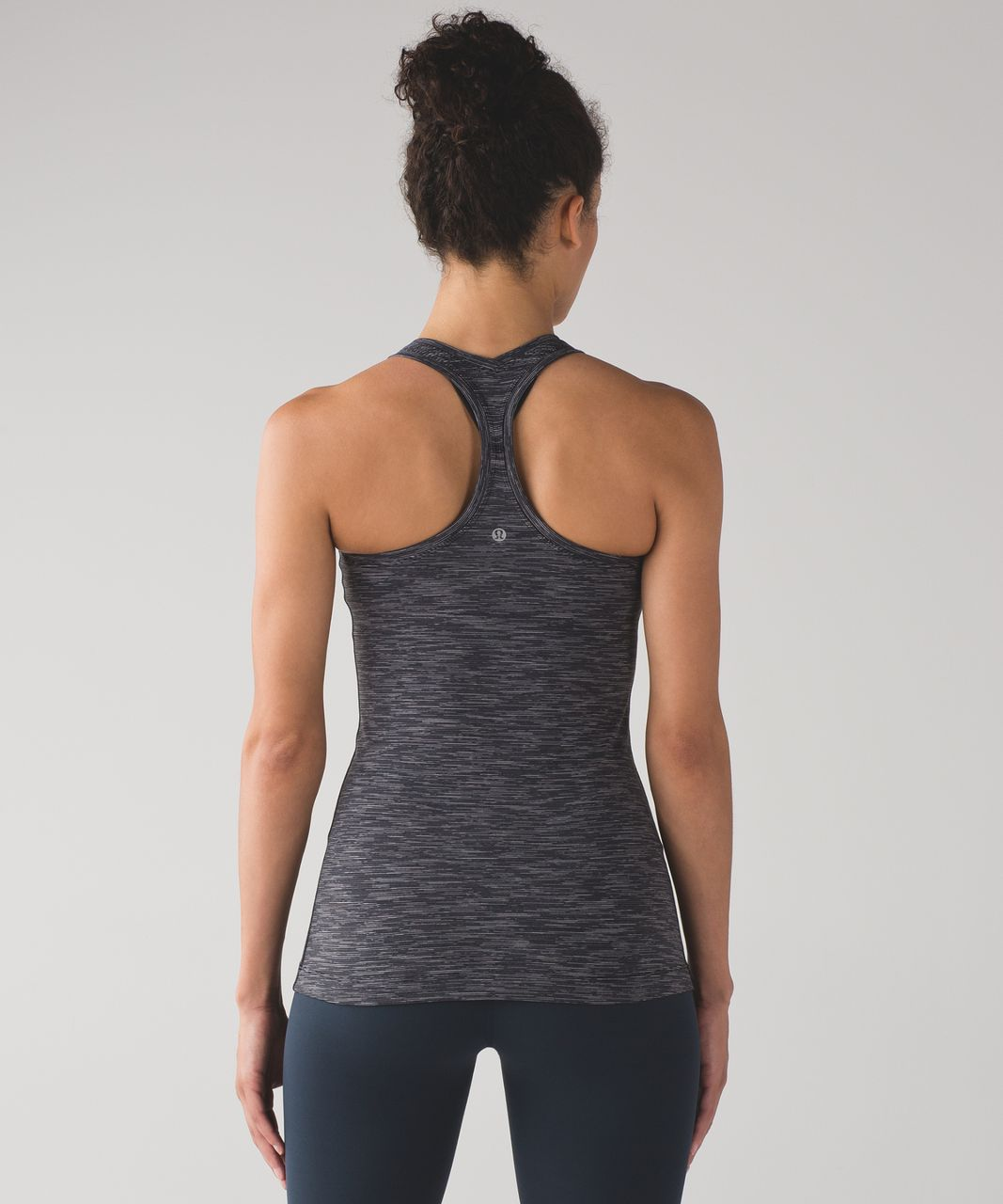 Lululemon Cool Racerback II - Wee Are From Space Deep Coal Battleship
