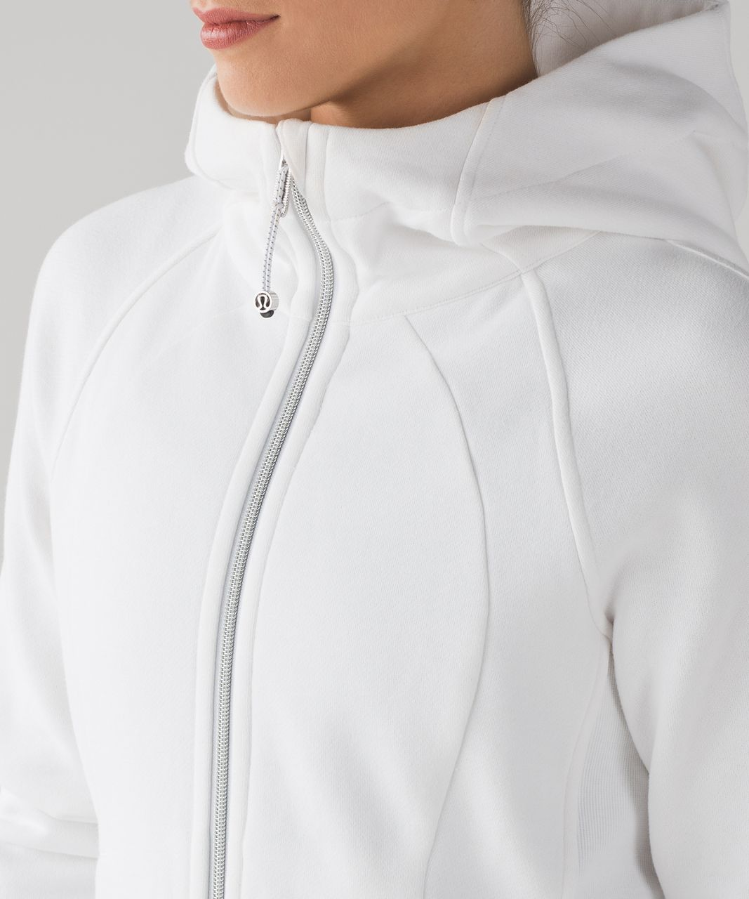 Lululemon Scuba Hoodie *Light Cotton Fleece - White (First Release)